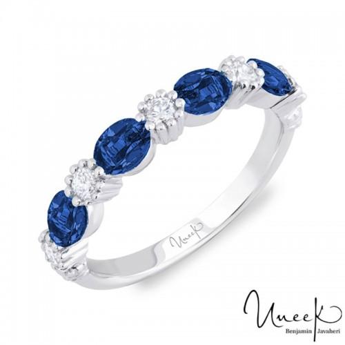 Uneek Fashion Ring, in 18K White Gold