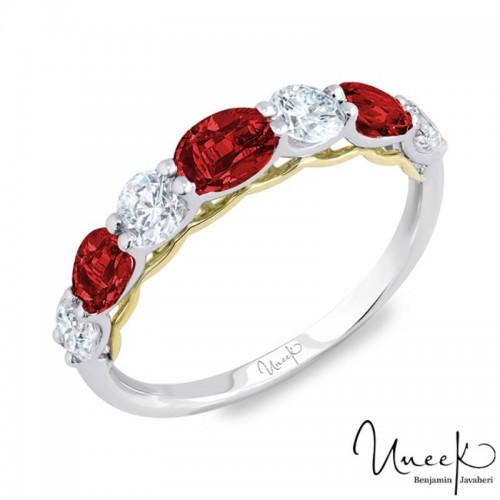 Uneek Fashion Ring, in 14K White Gold