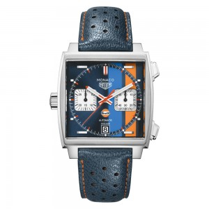 TAG HEUER MONACO AUTOMATIC CHRONOGRAPH - Gulf Edition