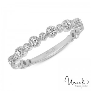 Uneek Diamond Fashion Ring, in 14K White Gold