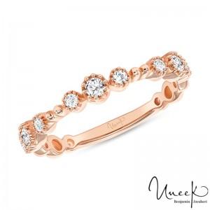 Uneek Diamond Fashion Ring, in 14K Rose Gold