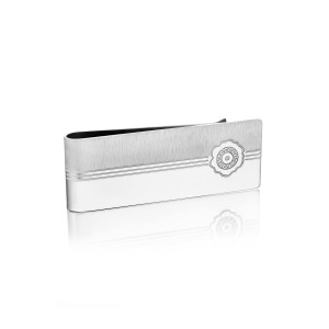 Sleek Racing Lines Money Clip