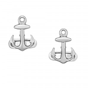 Silver Anchor Sailing Cufflinks