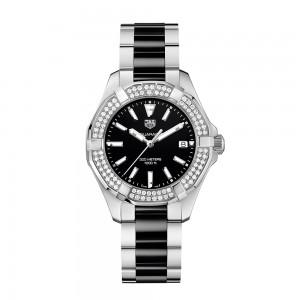 Aquaracer 300M Steel & Ceramic Quartz Watch
