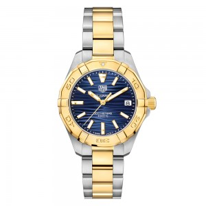Aquaracer 300M Steel & Gold Quartz Watch